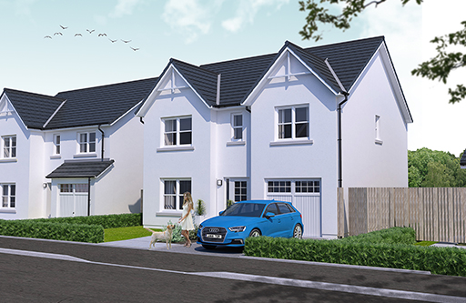 Plot 160 - The Tummel - Kingsford Rise