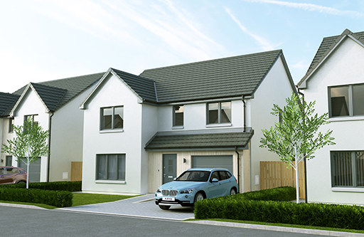 Plot 10 The Lomond Strabathie Village