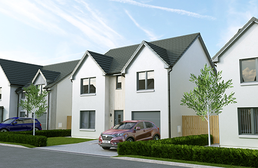 Plot 26 The Tummel Strabathie Village